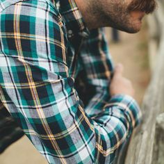 Spruce Indian Madras Jack Button Down Shirt by Taylor Shirt