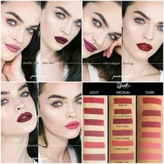READY STOCK SLEEK MATTE ME 100%  ORIGINAL & AUTHENTIC  PRICE  IDR. 125.000  Matte me is matte finish liquid lipstick that glides on in one smooth application with no need for a second coat this product is awesome! becouse you can eat or drink no problem . liquid lipstick Matte n velvet finish Smooth Application Comportable wear for hours Long Lasting & Pigmented No transfer or swearing Touch Proof No tested on animal  Tips:  use lips scrub and lip balm before using matte lipstick for great…