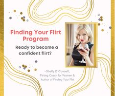 Feeling a bit out of practice, recently single, or not very good at flirting. Here is your chance to become confident while flirting. A flirting program for women that provides structure and support so that you can become a confident flirt. Develop skills to: Flirt with ease. Have fun and be playful anywhere. Attract others at whatever you level you desire. Act fast for a Super Special Discount! Click the link to learn more. How To Gain Confidence, Book Publishing, Flirting, Programming, Confident, How To Become, Finding Yourself, Author, Feelings