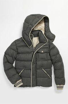 Moncler 'Rhin' Wool Puffer Jacket (Big Boys) | Nordstrom