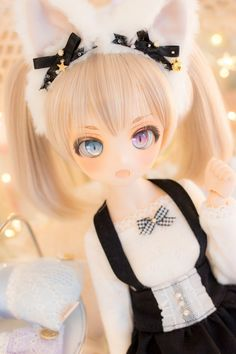 Soy una muñeca. Pop Dolls, Cute Dolls, Baby Dolls, Anime Chibi, Kawaii Anime, Anime Angel Girl, Kawaii Doll, Cute Cartoon Girl, Anime Figurines