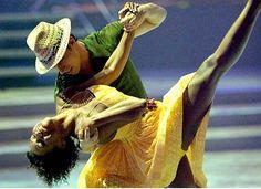 expression of joy. | salsa dancing.