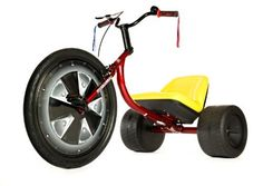 High Roller Adult Size Big Wheel Trike. I didn't even own one as a kid. This must be a sign.