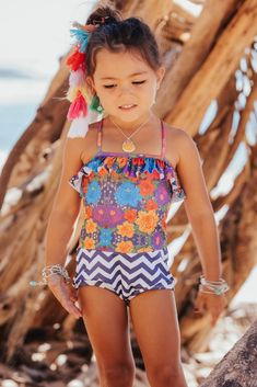 A new style for a new summer- this one piece has a ruffle detail on the top with a criss cross back with our boy short bottoms. Made with certified Brazilian Lycra. Beautiful Little Girls, Boy Shorts, Summer 2016, Tankini, Bikinis, Swimwear, One Piece, Fashion, Bathing Suits