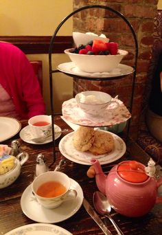 Breakfast @ Alice's Tea Cup, NYC. 156 E 64th St New York