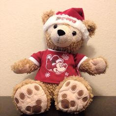 Lost on 18/11/2014 @ Disneyland, Anaheim, California. He was lost in the Mickey and Friends parking structure at Disneyland in Anaheim California. He was a Duffy the Disney bear and he was wearing a Mickey Mouse Christmas shirt (see picture) He is tru... Visit: https://whiteboomerang.com/lostteddy/msg/pgxzx2 (Posted by Shawnee on 19/11/2014)