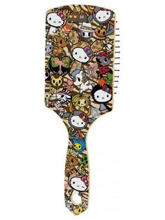 tokidoki x Hello Kitty Safari Hair Brush