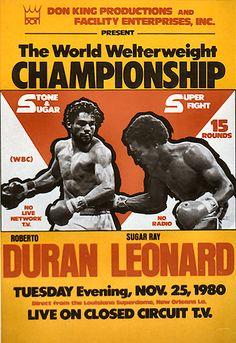 :::: PINTEREST.COM christiancross ::::Duran vs Leonard