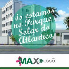Nós estamos em Lauro de Freitas, na Bahia. Compre nosso Gesso pra sua obra também, não fique de fora dessa! ;) Veja: http://www.mrv.com.br/imoveis/apartamentos/bahia/laurodefreitas/centro/parquesolardoatlantico