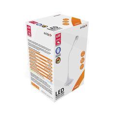 Stolná LED lampa s Bluetooth reproduktorom, 4W, 250lm, biela farba (2) Led Desk Lamp, Bluetooth, Container