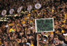 Keep Doubting - We'll just keep making history. #Baylor (Click to read a great blog post!)