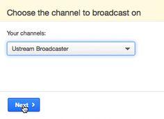 Cómo se debe transmitir usando Transmisor web de Ustream - Soporte Ustream