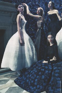 christian dior haute couture f/w 2012, 'in the kingdom of dior' by paolo roversi for vanity fair september 2012
