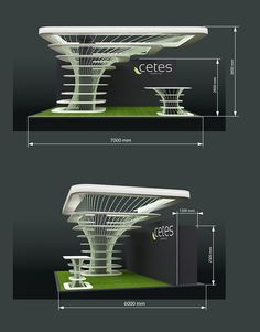 Project on Behance Kiosk Design, Display Design, Column Design, Stage Design, Web Banner Design, Exibition Design, Living Room Partition Design, Booth Decor, Exhibition Stand Design