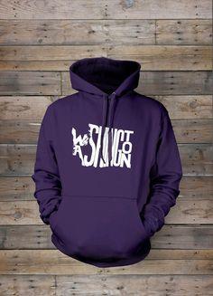Washington Stately Hooded Sweatshirt by TheStatelyShirtCo