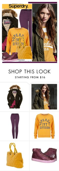 """The Cover Up – Jackets by Superdry: Contest Entry"" by paoloshoes ❤ liked on Polyvore featuring Superdry and 2LUV"