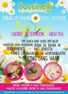 Springtime! So we organize a Ladies Afternoon High Tea.
