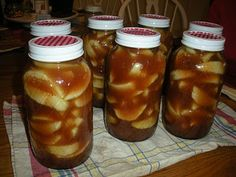 Homestead Survival: Apple Pie Filling Canning Recipe