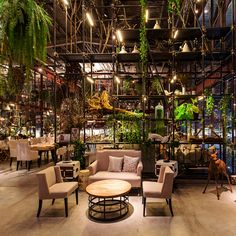 A converted warehouse is the setting for this Asian-fusion restaurant, which won the bars and restaurants category at Inside Festival 2015.