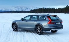 Ice Capades: Volvo V90 Cross Country Driven in Sweden's Frozen North - Photo Gallery of First Drive from Car and Driver - Car Images - Car and Driver