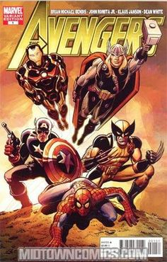 THE HEROIC AGE IS HERE! There came a day! A day unlike any other...where two of Marvel's top creators teamed up for the very first time to create a bombastic new monthly Marvel comic that not only ushers in the Heroic Age of Marvel Comics but unleashes onto the world the most blockbuster Avengers team ever! Who will answer the call? And will they assemble just in time...because Kang the Conqueror is here from the future. And wait till you find out why...! Bonus back up feature: the oral ...