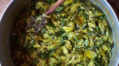 Stewed Zucchini with Garlic, Basil, and Mint Recipe