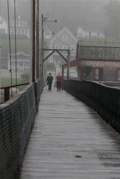 Footbridge, Boothbay Harbor, Maine