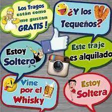 Resultado de imagen para frases para fiestas Photo Props, Photo Booth, Mexican Party, Ideas Para Fiestas, I Party, Pop Tarts, Birthdays, Alcohol, Baby Shower