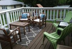 Traditional Deck with Fence