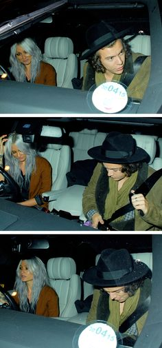 "Harry Styles Media: ""They're in a car together. Another dating rumour"""