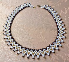 Free pattern for beaded necklace Teresa | Beads Magic