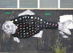 Vinyl Wall Art Fish