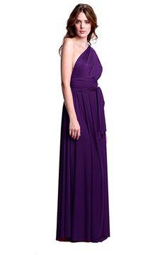 Sakura Convertible Dress Long Plum Purple- $158 @sandi
