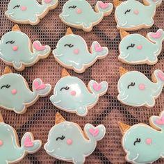 Narwhal cookies