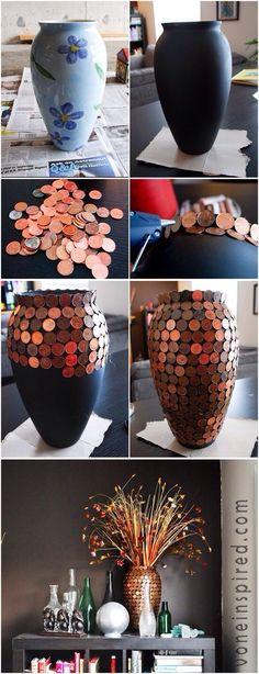 DIY penny jar..literally!