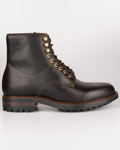 Gant Jules leather dark brown shoes 9641394 G46 Skor på Zoovillage