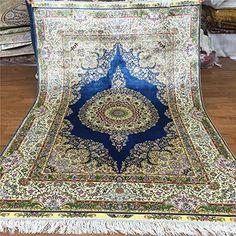Camel Carpet Handmade Qum Silk Rugs 4'x6', http://www.amazon.com/dp/B01EWO0XN8/ref=cm_sw_r_pi_awdm_U3Xjxb1PDZMSB