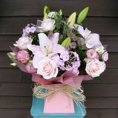 """""""Pretty in pink"""" bouquet from www.thepetalboutique.co.uk"""