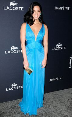 Electric Blue from Olivia Munn's Best Looks | E! Online