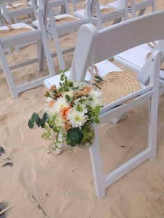 Chair Decor. Wedding at Hard Rock Hotel Punta Cana