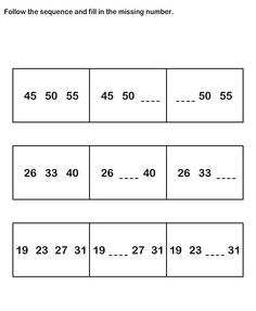 math worksheet : number sequence worksheetsmath worksheets kindergarten  : Number Sequence Worksheets For Kindergarten