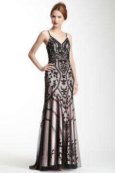 Sleeveless Beaded Dress by Sue Wong on @HauteLook
