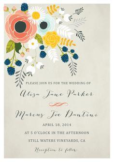 Go Digital With 18 Eco-Friendly Save the Dates + Wedding Invitations via Brit + Co.