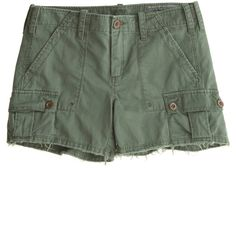 Calypso St. Barth Cotton Drill Short ($165) ❤ liked on Polyvore