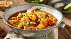 Blumenkohl ist in der veganen Küche einfach unentbehrlich - zum Beispiel als Zutat in diesem Gemüsecurry.