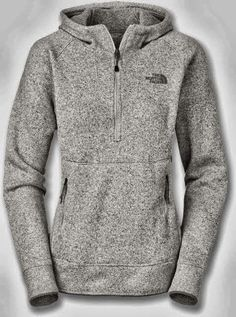 New Adorable Comfy Grey North Face Pullover