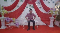 during my sister wedding