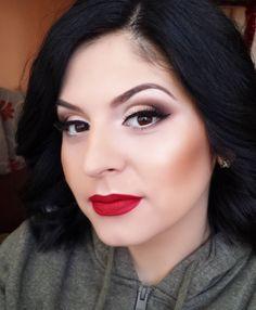 #retro #pinup #makeup #redlips https://www.facebook.com/magic.makeup.by.ac/
