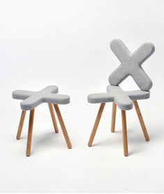 Cross is an upholstered chair