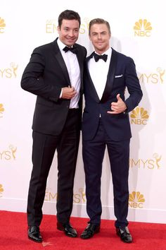 Jimmy Fallon and Derek Hough! #Emmys